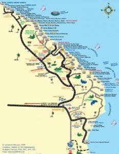 Доминикана на карте